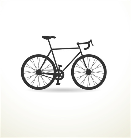 road bike: Sport Bicycle vector