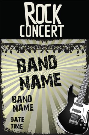 concert: rock concert poster