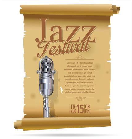 jazz background: Jazz background Illustration