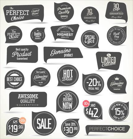 vector element: Modern badges collection Illustration