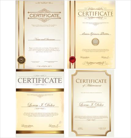 certificate template: certificate template collection