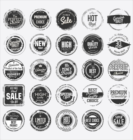 Grunge rubber stamp premium quality collection