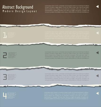 edge: torn paper vector Illustration