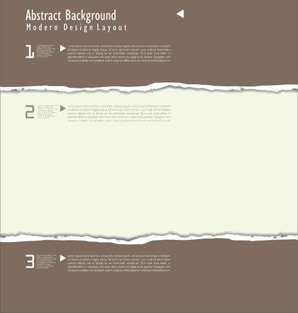 teared paper: torn paper vector Illustration