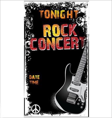 famosos: Cartel de la música de conciertos Vectores