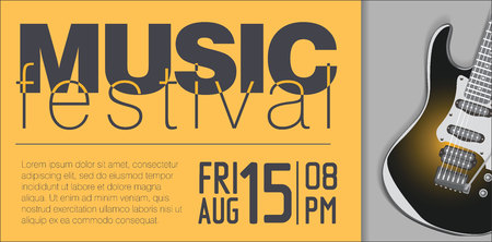 the concert poster: Music concert poster