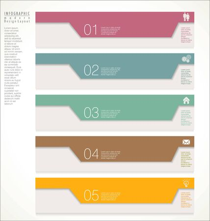 abstract art background: Modern design template