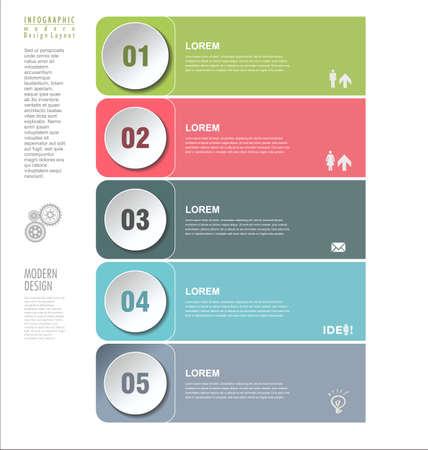 circle design: Modern design template