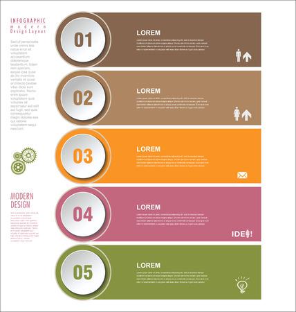 tab: Modern design template