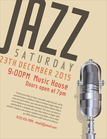 performers: Jazz poster