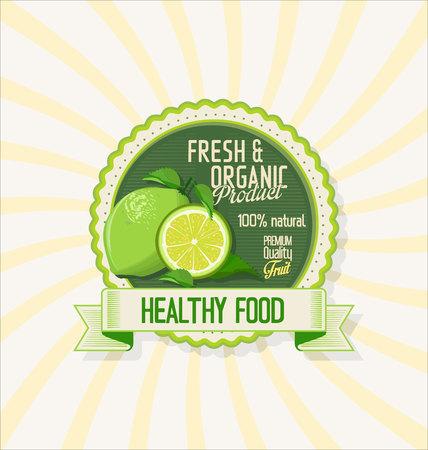 lemon juice: Glass of lemon juice with fruit background