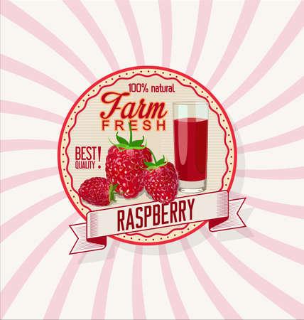dewdrop: Juice from fresh rasberries background