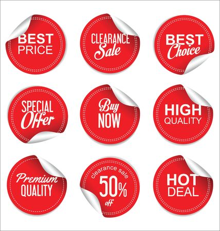 tag: Sale price tag collection