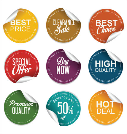 Sale price tag collection