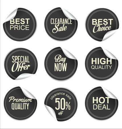 price tag: Sale price tag collection