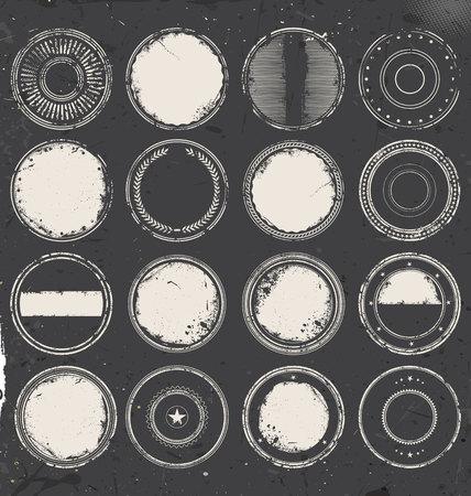 grunge rubber stamp: Grunge rubber stamp collection