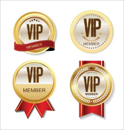 VIP-lid badge collectie