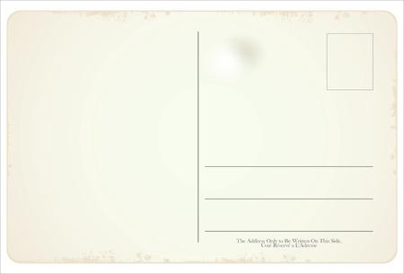 Postcard vector retro vintage design Vectores