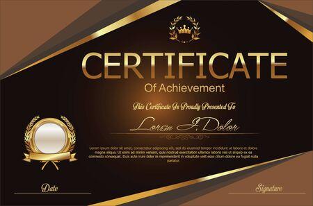 Certificate or diploma template Imagens - 59204390