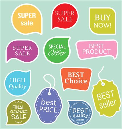sale tags: Sale stickers tags and labels collection