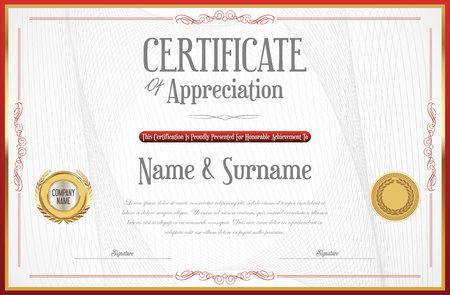 elegant certificate design