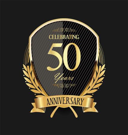 anniversary background 50 years