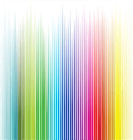 Rainbow colorful stripes abstract background Illustration