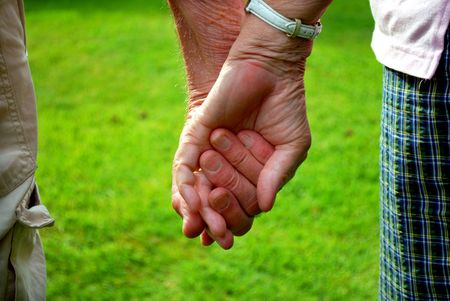 holding hands Stock Photo - 5097083