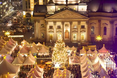 berlin christmas market on gendarmenmrkt