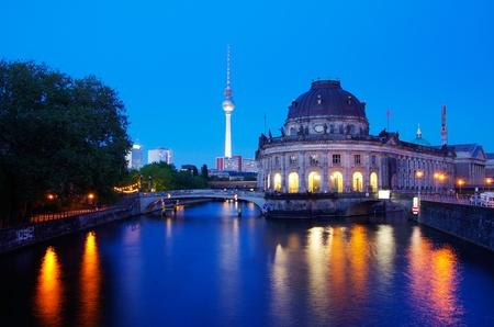 博物館島とボーデ博物館ベルリン