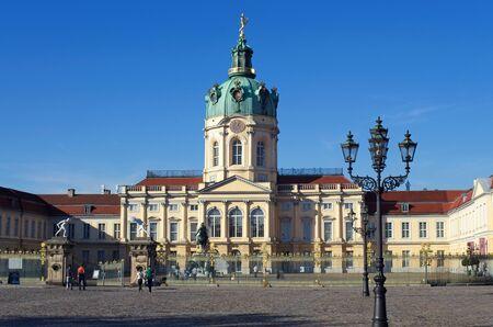 schloss: schloss charlottenburg castle in berlin germany
