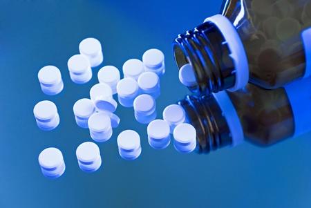 schussler schüssler salze tablets - a homepathic remedy on a mirror