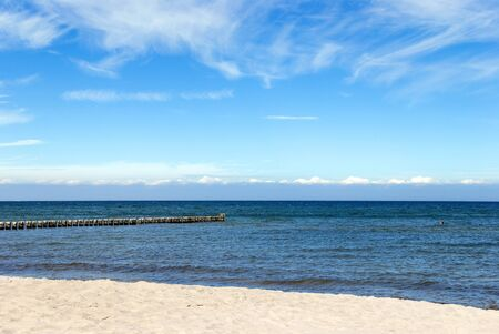 baltic sea and beach in zingst germany Stock Photo - 14254104
