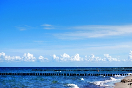 beach of the balitc sea in fischland darss zingst, germany Stock Photo - 20414487