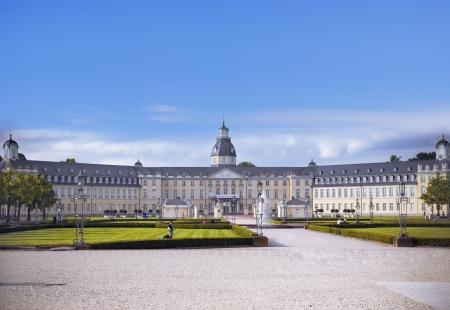 karlsruhe: Castle of Karlsruhe in Baden-Wuerttemberg, germany Editorial
