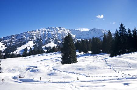allgau: Winter in Allgau, Oberjoch and Bad Hindelang, Germany
