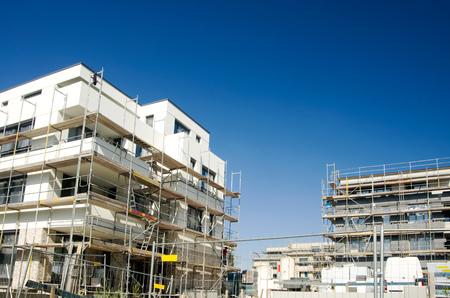 ベルリンで近代的な建物の建設サイト住宅