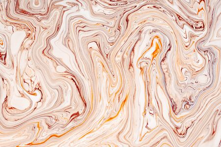 Abstract acrylic paint waves texture. Beautiful, luxury marble, granite pattern background. Modern, natural pastel mineral, resin art. Fluid, oil, paint minimal decorative backdrop