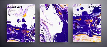 Abstract of iridescent paint effect. Stock Illustratie