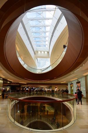 skylights: Taikoo Hui Guangzhou oval skylight
