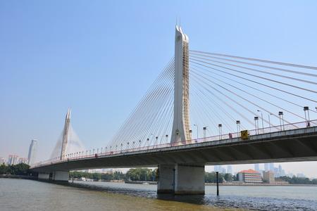 Guangzhou: Haiyin bridge in Guangzhou