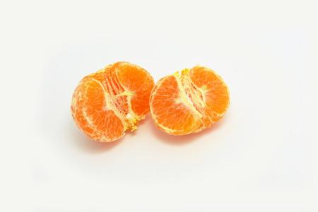 pulp: Orange pulp Stock Photo