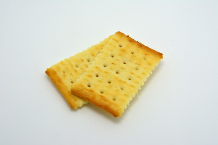 cracker: Saltine cracker Stock Photo