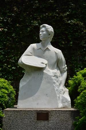 he: Junior Pan He sculpture sculpture Editorial