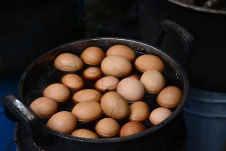 braised: Braised eggs