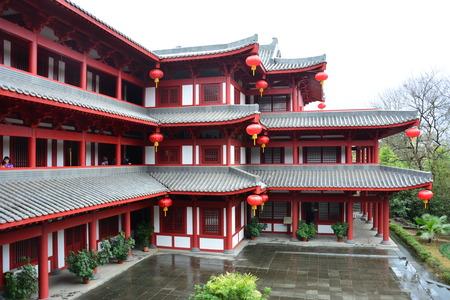liu: Even the Liu Yuxi Memorial Hall