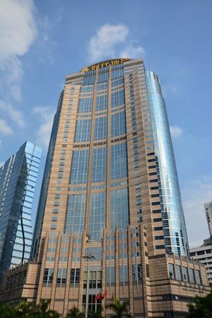 estate: Guangzhou times real estate building Editorial