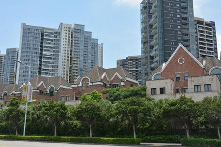 mile: Guangzhou China vanke golden mile South Bay Villas Editorial