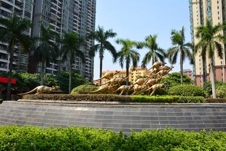 roo: Guangzhou jinbi new city Roo sculpture