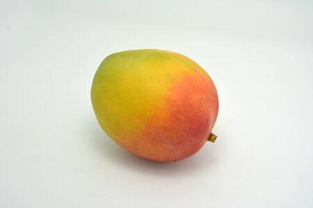 fruitage: Mango fruit on white background